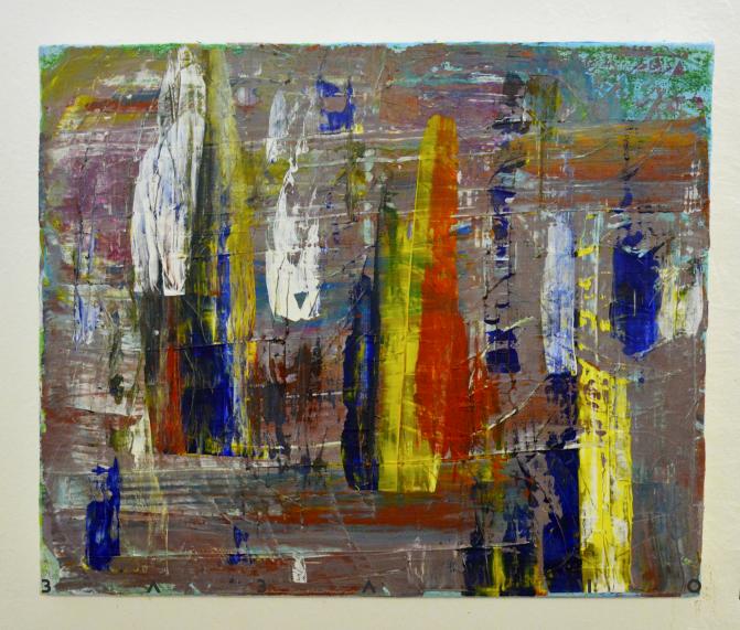 (Ambition)  جاه طلبی Acryl on canvas