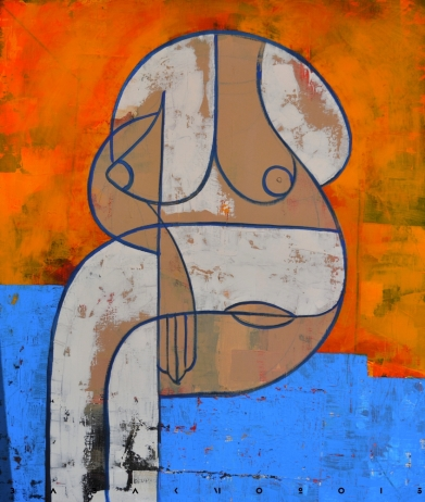 Acryl on canvas - Babakmo2015
