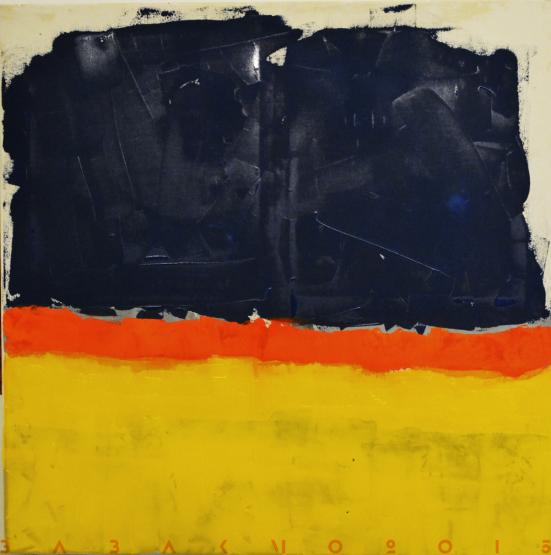 100x100 cm, Acryl on canvas,2015