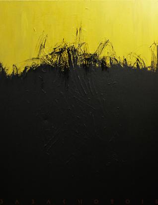 180x130 cm, Acryl on canvas